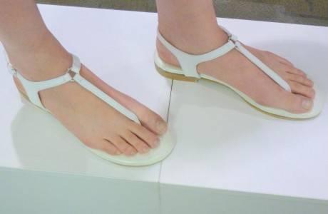 מאסטרו נעלי כלה דגם סנדל אצבע