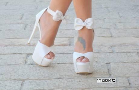 נעלי כלה עקב גבוה