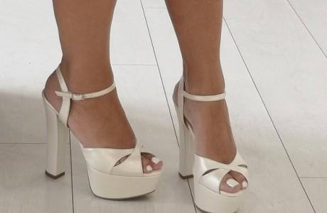 מאסטרו נעלי כלה דגם שירין פנינה