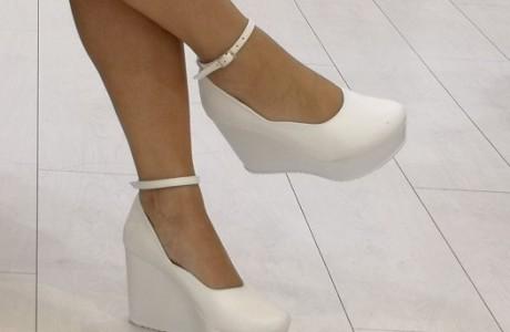 נעלי כלה נוחות - פלטפורמה