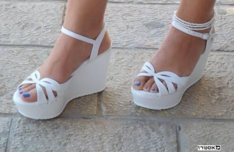 מאסטרו נעלי כלה דגם מורין פל