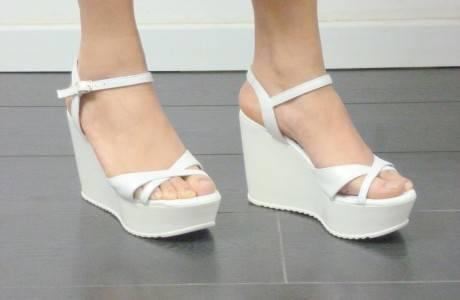 מאסטרו נעלי כלה דגם ענבל פל