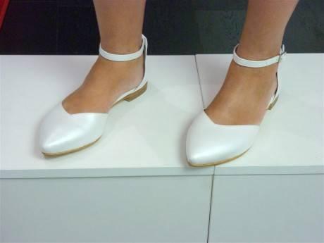 מאסטרו נעלי כלה דגם לבנת