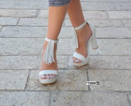 מאסטרו נעלי כלה דגם לין לסנר