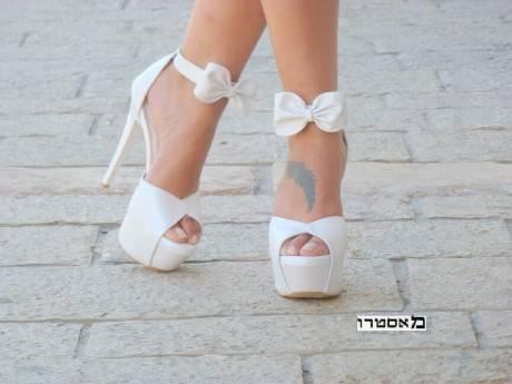 מאסטרו נעלי כלה דגם מעין פפיון