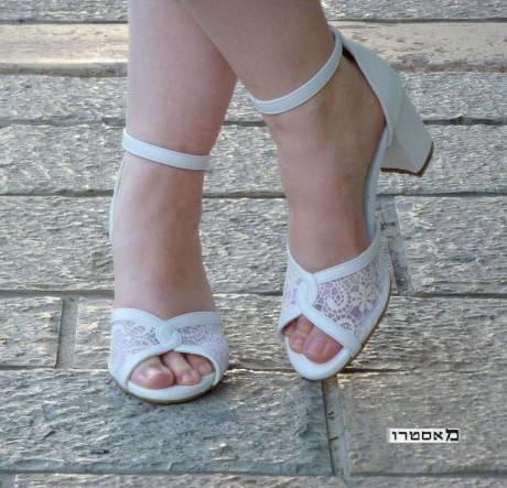 מאסטרו נעלי כלה שלהבת מ