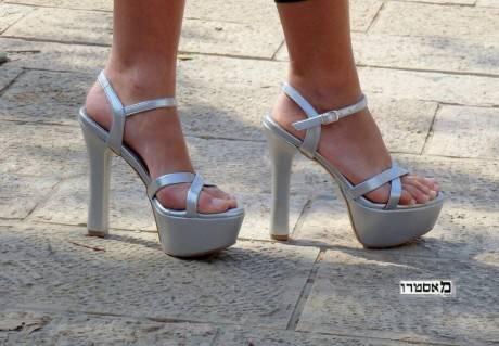 מאסטרו נעלי ערב דגם שובל זמרן